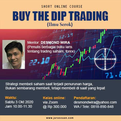 Training Online Buy The Dip Trading 3 Oktober 2020